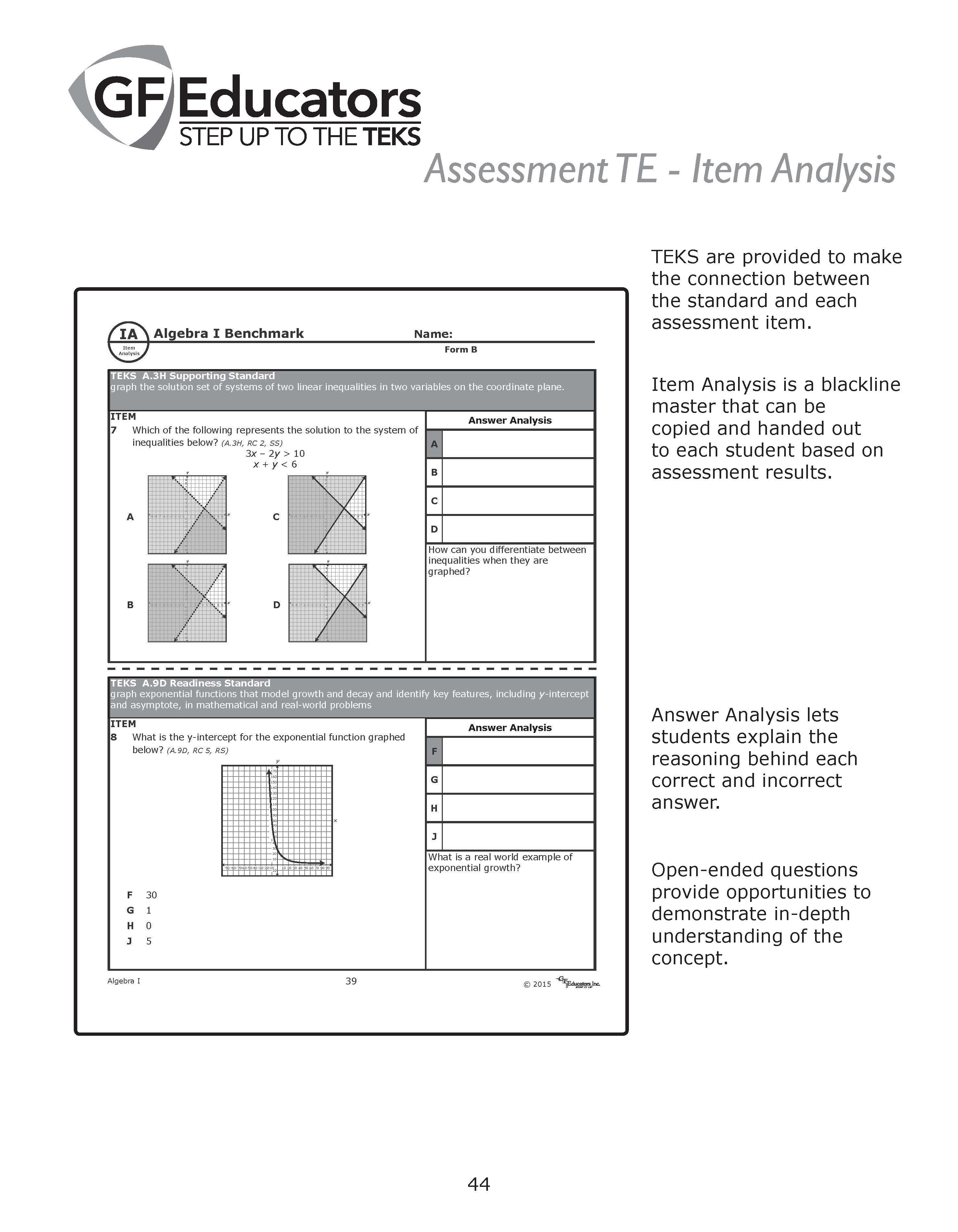 Math Products - GF Educators